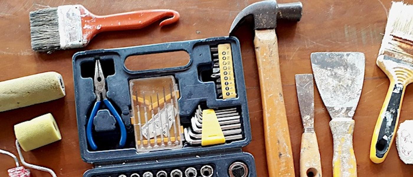Faça Você Mesmo: 9 Ferramentas para Criar e Decorar a Casa com DIY