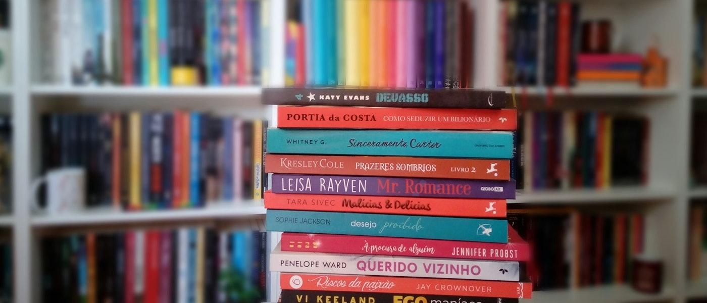 Romances Eróticos: 12 Indicações de Livros para Quem Curte o Gênero