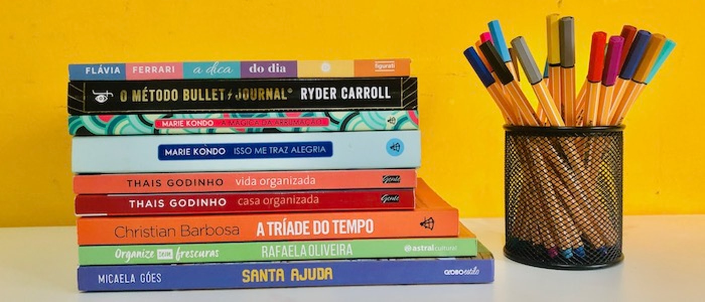 Organização e Produtividade: 10 Livros para Organizar a Casa e a Rotina