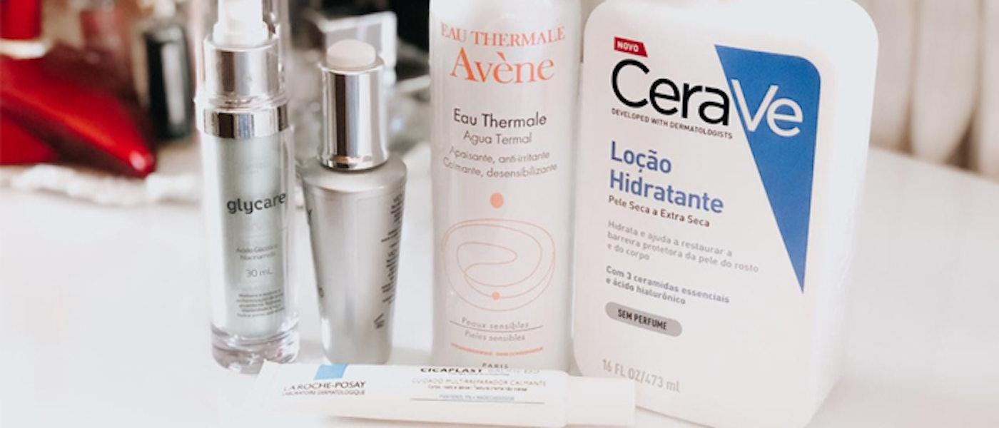 Skincare: 10 Produtos para Cuidar da Pele do Rosto e do Corpo