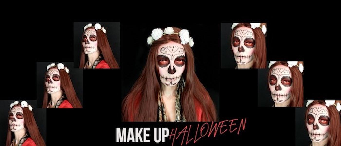 Faça uma Make Fácil de Halloween com Apenas 5 Produtos