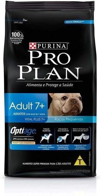 PURINA Ração Pro Plan Cães Adultos Raças Pequenas 7+ 2kg 1