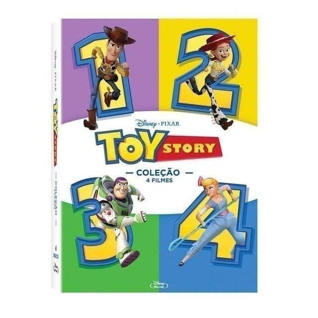 Toy Story Coleção 4 Filmes 1