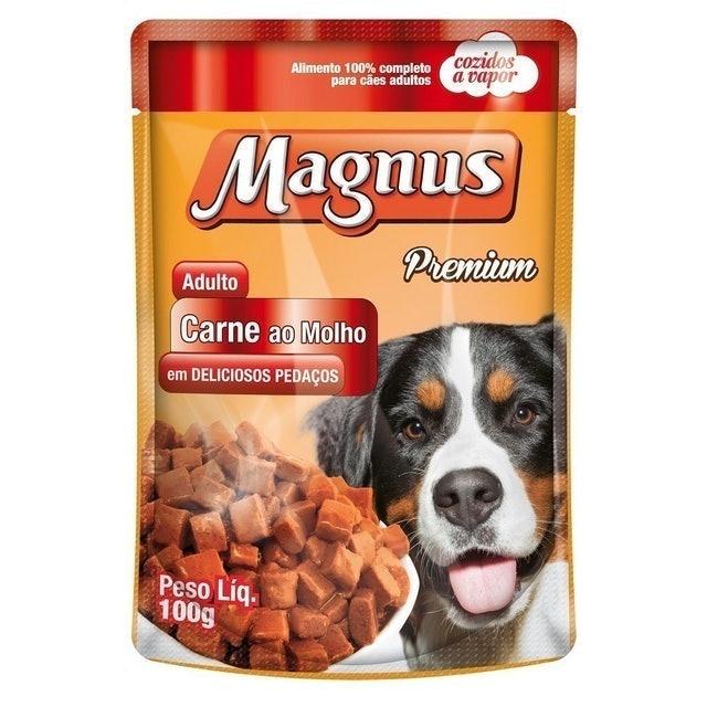 MAGNUS Ração Úmida para Cães Adultos 85g 1