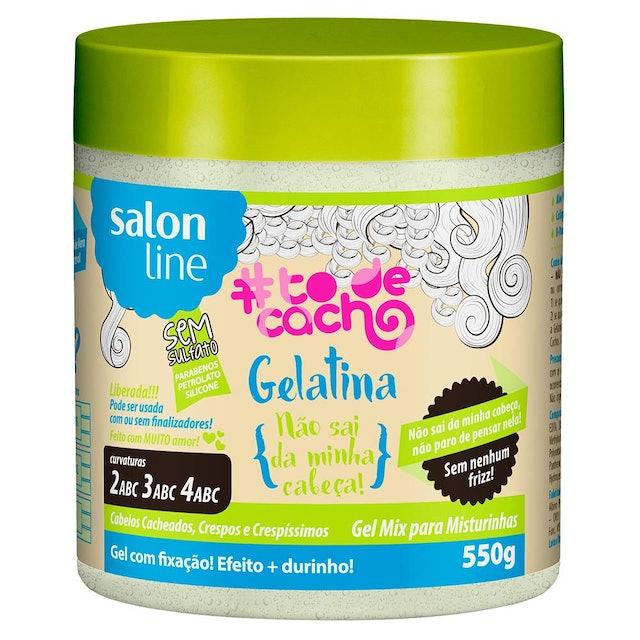 SALON LINE Gelatina Não Sai Da Minha Cabeça #todecacho 1