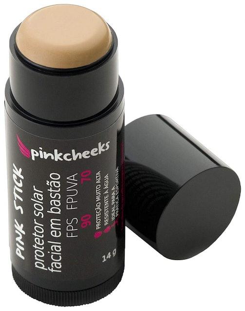 PINK CHEEKS Protetor Solar Facial em Bastão Pink Stick 1