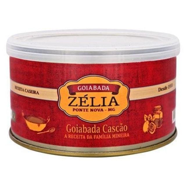ZÉLIA Goiabada Cascão Lata 400g 1