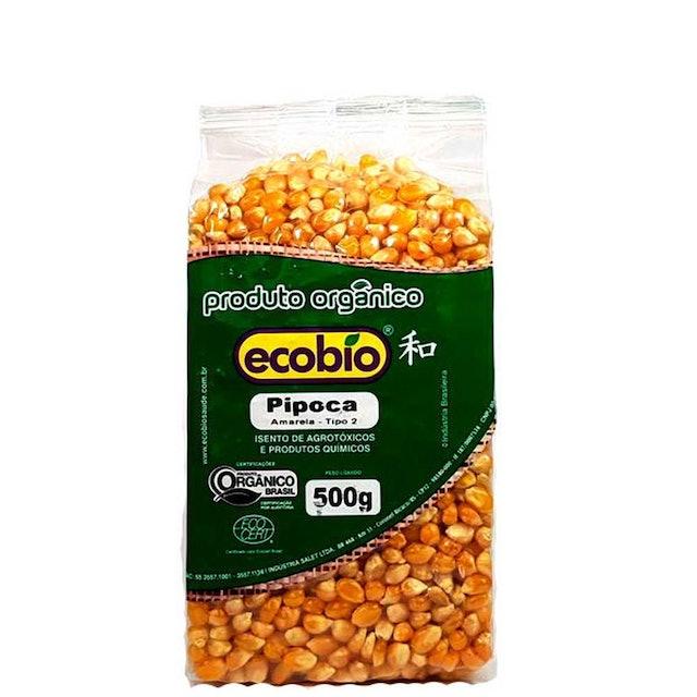 ECOBIO Milho de Pipoca Orgânico 500g 1