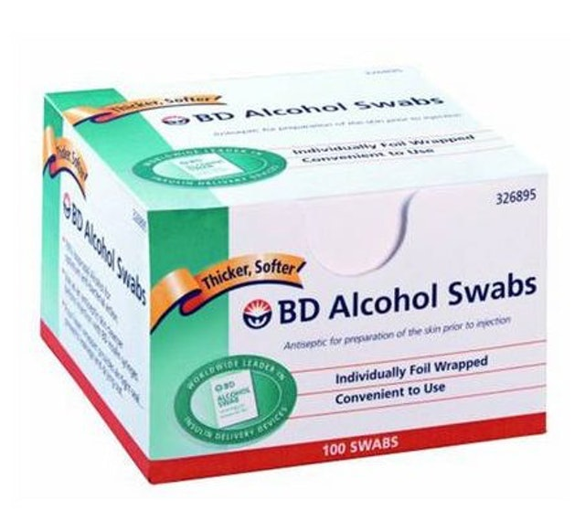 BD Alcohol Swabs Sachê 1