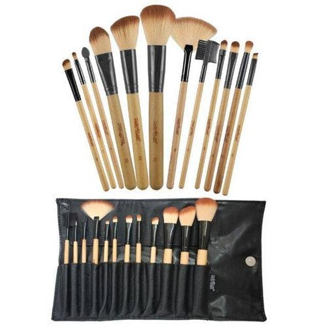 MACRILAN Kit Profissional Com 12 Pincéis para Maquiagem 1