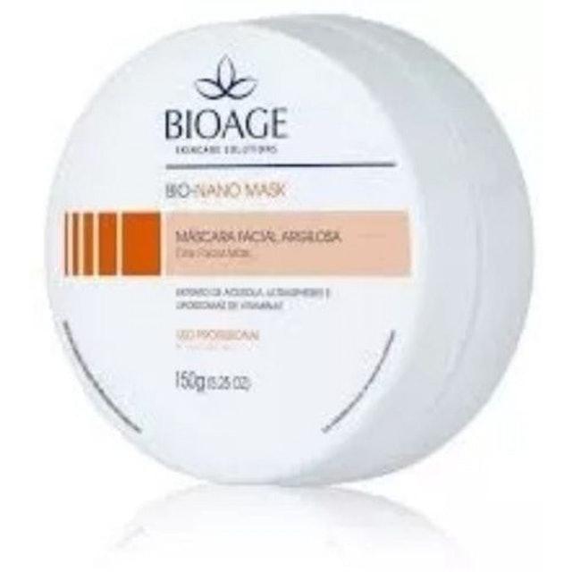 BIOAGE Bio Nano C Mask Mascara Clareadora Facial Argilosa 1