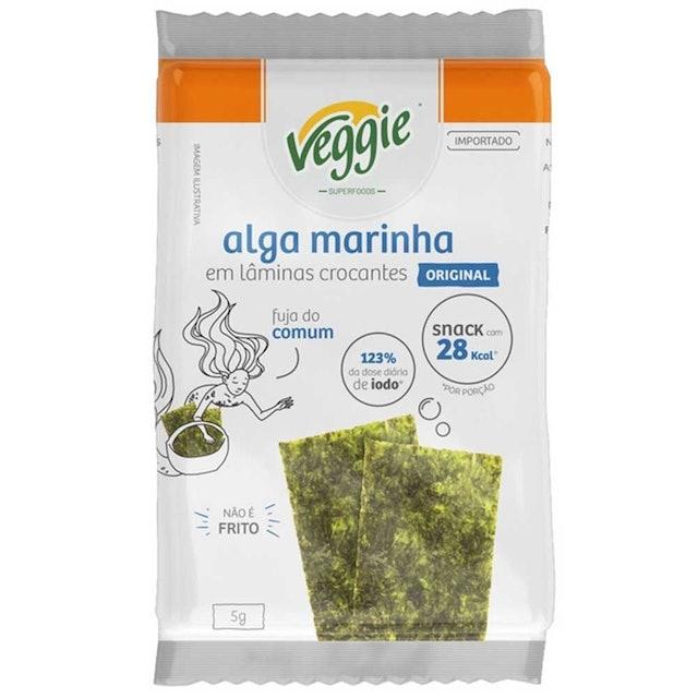 VEGGIE Snack de Algas Original 5g 1
