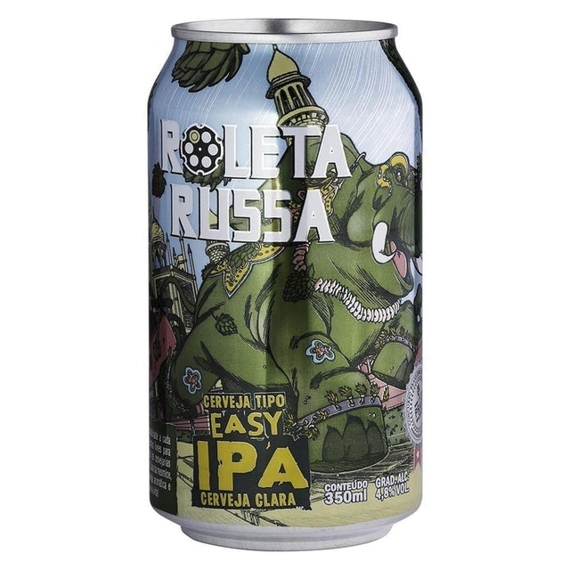 ROLETA RUSSA Cerveja Roleta Russa Easy IPA 350ml 1