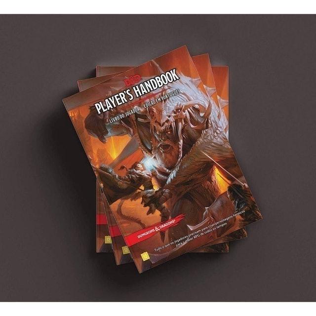 GALÁPAGOS JOGOS Dungeons & Dragons Livro do Jogador 5 Ed (Português)  1