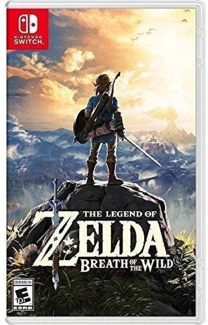 NINTENDO Game The Legend Of Zelda: Breath Of The Wild para Nintendo Switch 1