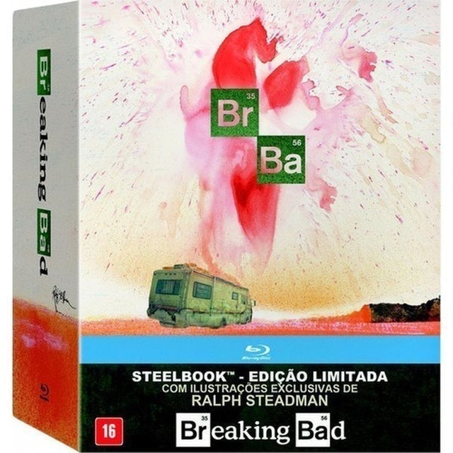 Breaking Bad Coleção Completa Edição Limitada 1