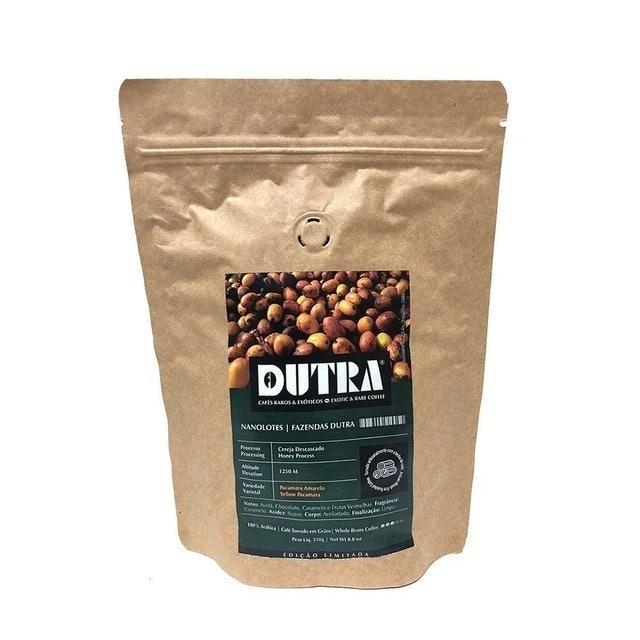 DUTRA Café Especial Dutra Nanolote Pacamara Amarelo 250g  1
