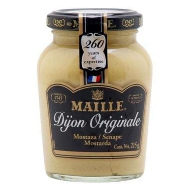 MAILLE Mostarda Dijon Francesa 215g 1