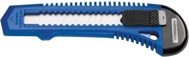 TRAMONTINA Estilete Retrátil 6 Basic com Lâmina em Aço Especial 1