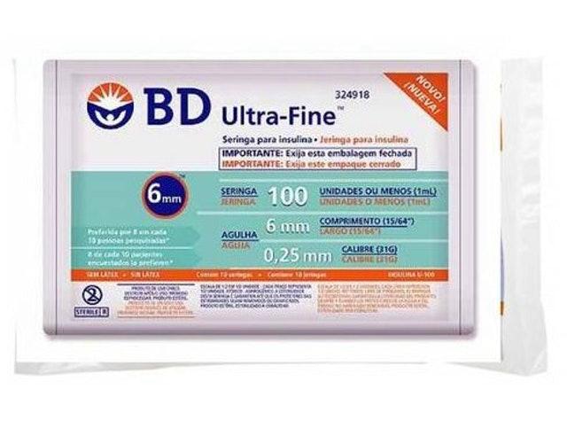 BD Seringa de Insulina Ultra-Fine 1