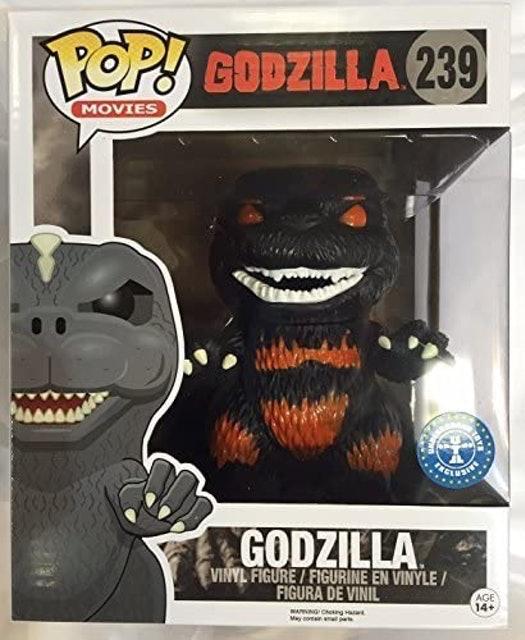 FUNKO POP Boneco de Vinil Godzilla 239 - Brilha no Escuro 1