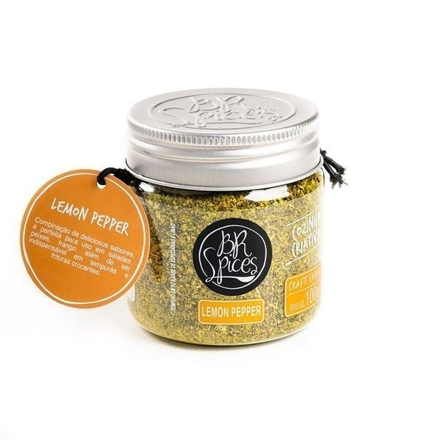 BR SPICES Lemon Pepper 100g 1