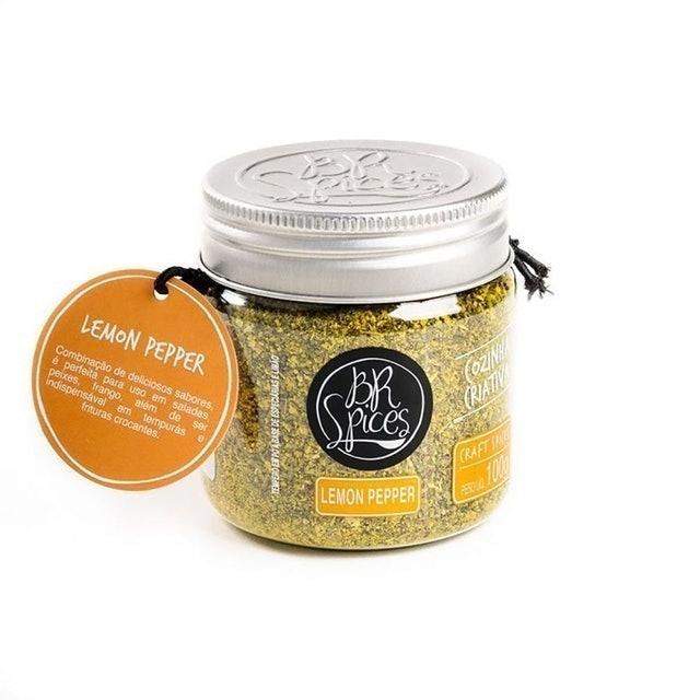 BR SPICES Lemon Pepper 100g 1