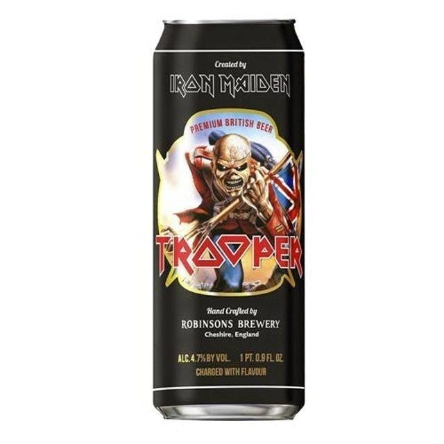 CERVEJARIA ROBINSONS Cerveja Tropper Iron Maiden 500ml 1