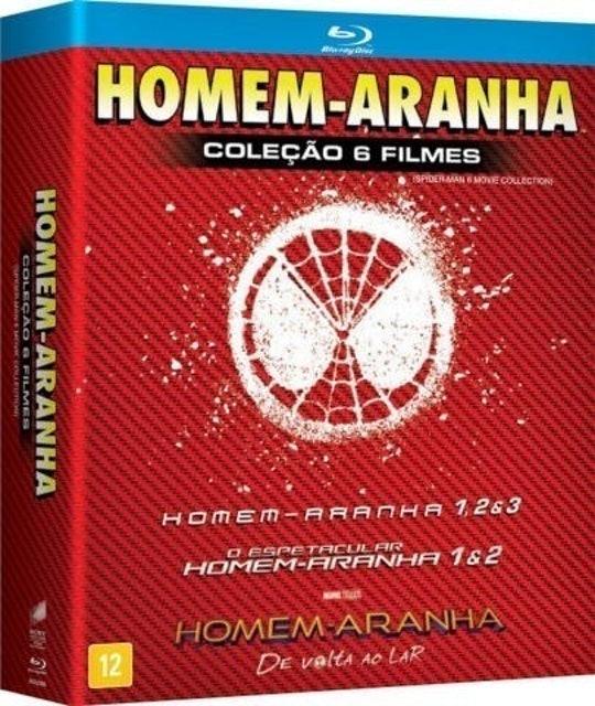 Homem Aranha Coleção 6 Filmes 1