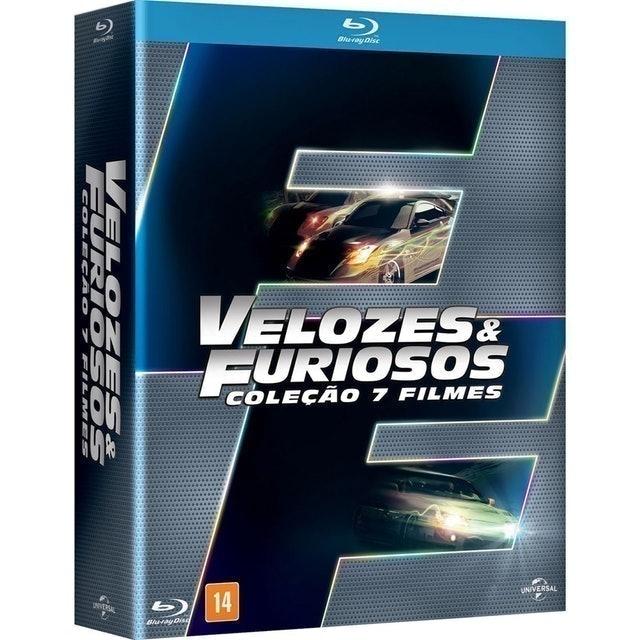 Velozes e Furiosos Coleção 7 Filmes 1