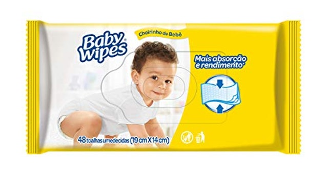 HUGGIES Lenços Umedecidos Baby Wipes 1