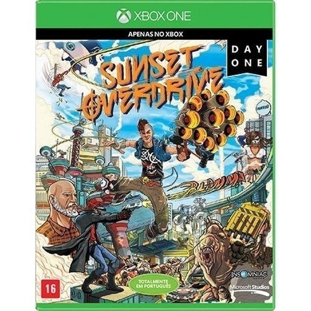 MICROSOFT Game Sunset Overdrive para Xbox One 1