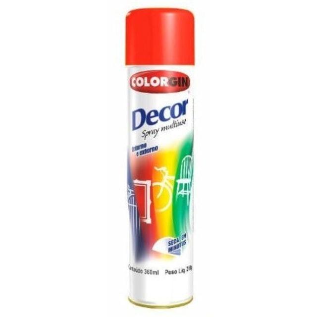 COLORGIN Tinta Spray Vermelho 1