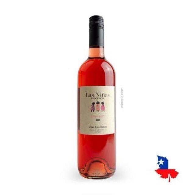 VIÑA LAS NIÑAS Vinho Rosé Chileno Las Ninas Inocencia Syrah 1
