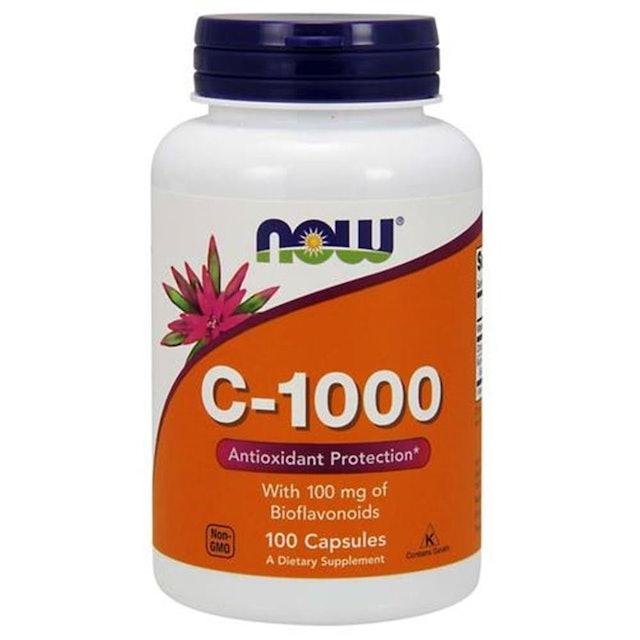 NOW Vitamina C 1000 - 100 Comprimidos 1