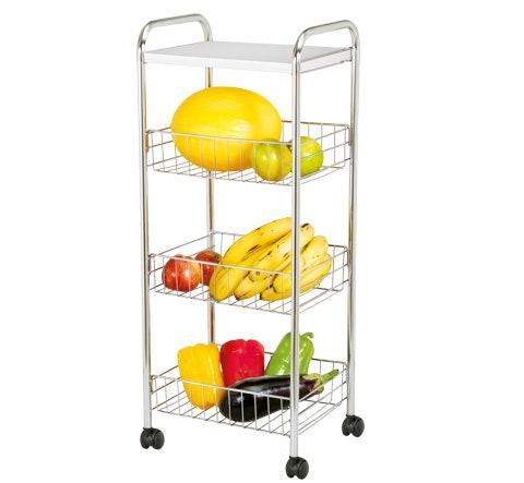 Escolha entre Modelos de Fruteira com Rodinhas ou Fixas