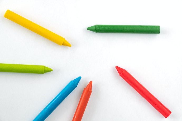 Giz de Cera Escolar: Para Fazer Contornos Mais Elaborados