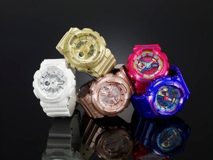 Baby-G: a Robustez do G-Shock com Design Mais Gracioso