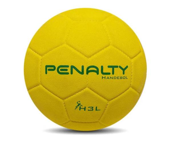 Bola de Handebol H3: Maior Tamanho e Peso, Exclusiva para Jogos Masculinos