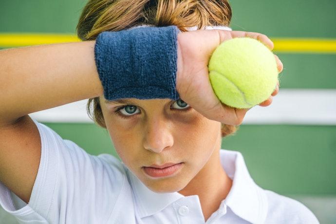 Munhequeira para Reter o Suor no Tênis, Basquete e Outros Esportes