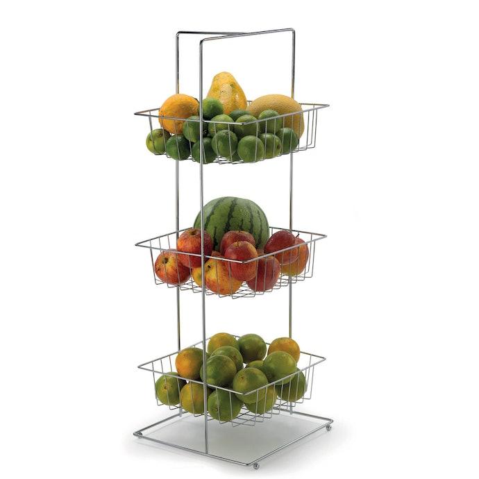 Verifique o Tamanho e a Capacidade da Fruteira