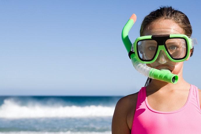 Verifique Se a Máscara de Mergulho Inclui Snorkel