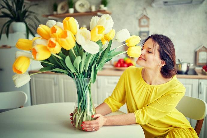 Vasos Altos: Para Flores de Caule Longo