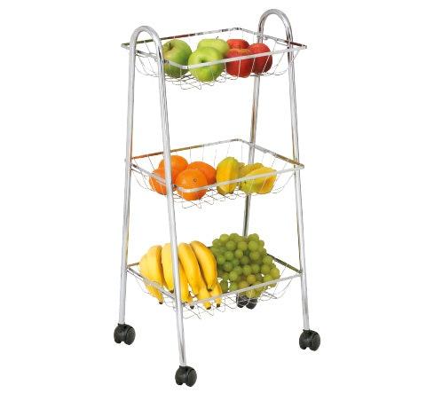 Como Armazenar Frutas e Legumes na Fruteira de Chão?
