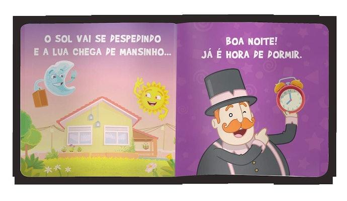Use Livros com Ilustrações Noturnas para Criar uma Rotina e Praticar a Higiene do Sono