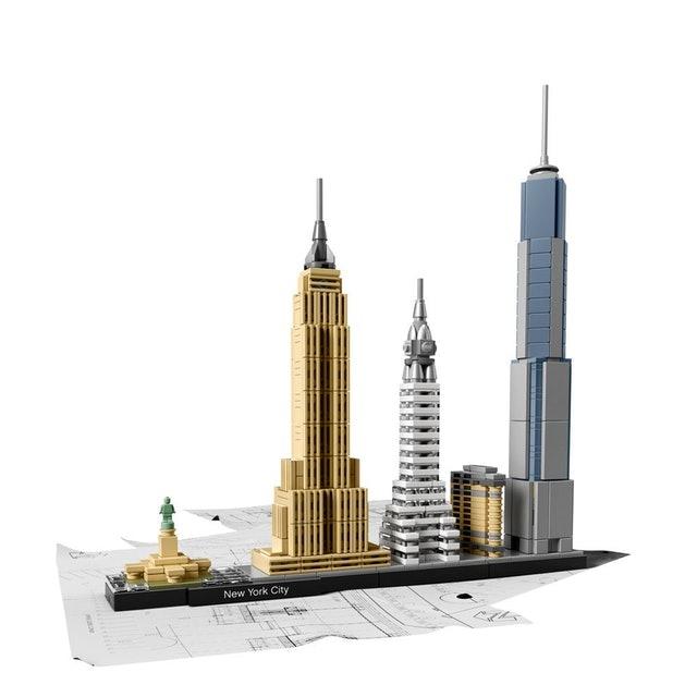 LEGO  Architecture Cidade de Nova York 1
