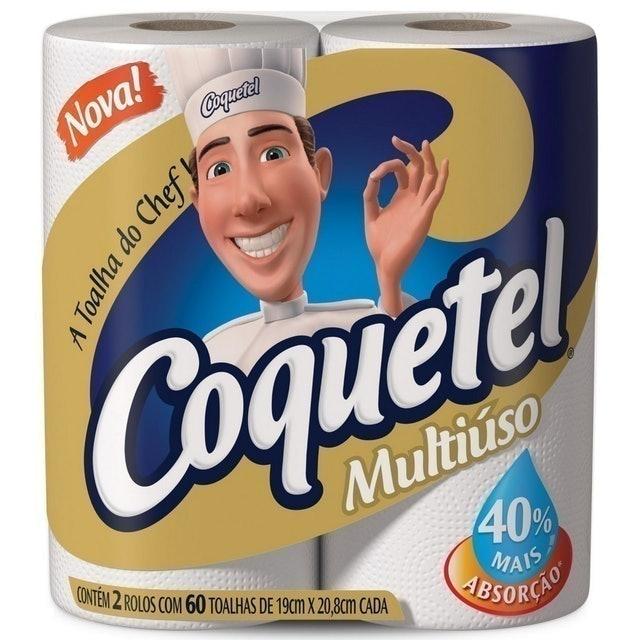 CARTA FABRIL Toalha Coquetel Multiuso 1