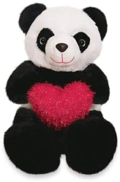 MIRANTE BRASIL Urso de Pelúcia Panda Apaixonado  1