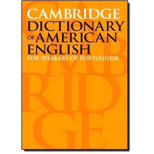 MARTINS FONTES Cambridge dictionary of American English: For speakers of portuguese 1