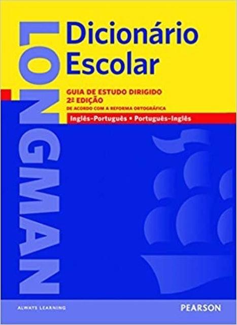 PEARSON ENGLISH Longman Dicionário Escolar: Guia de Estudo Dirigido 1
